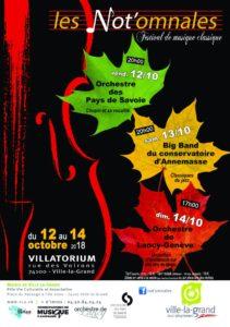 Les Not'omnales de Ville-la-Grand :</br> Un parfum d'Andalousie sur des airs de tango @ Villatorium  | Ville-la-Grand | Auvergne-Rhône-Alpes | France