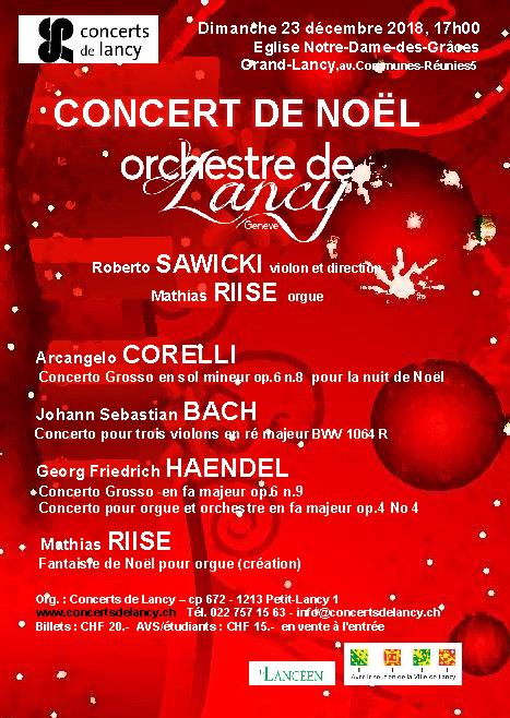 Concert de Noël : Compositeurs baroques