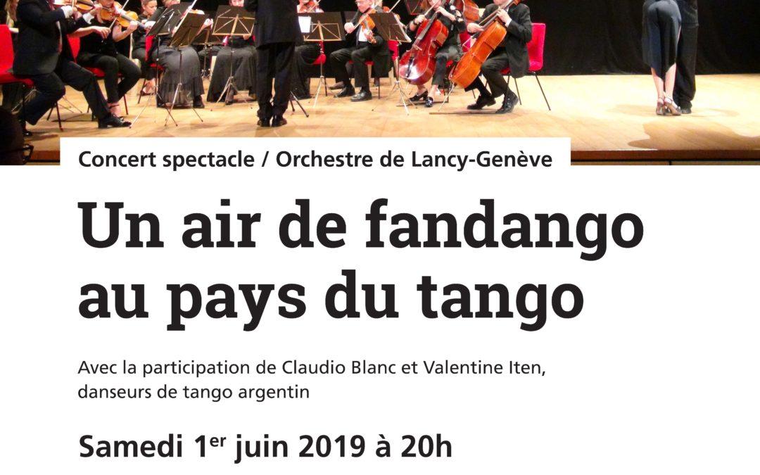Un air de fandango au pays du tango