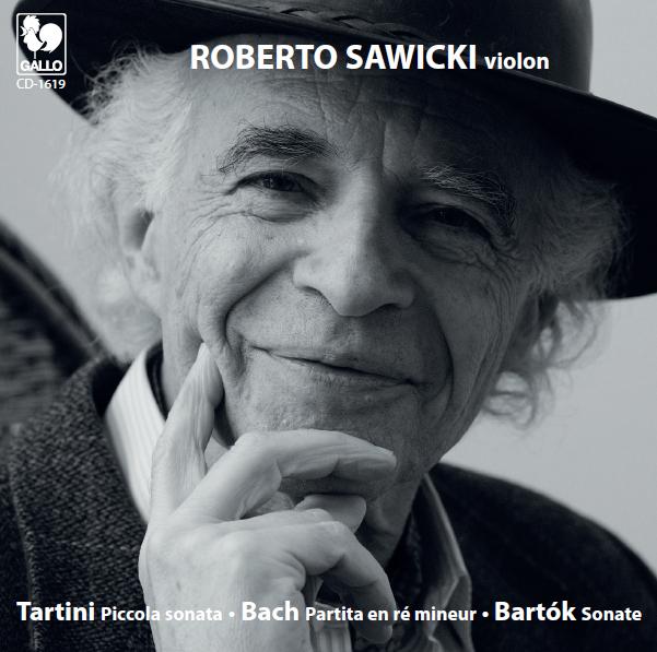 Couverture du disque Roberto Sawicki - violon vol.2