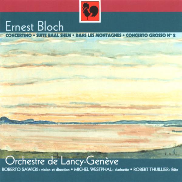 Couverture album Ernst Bloch - orchestre de Lancy-Genève